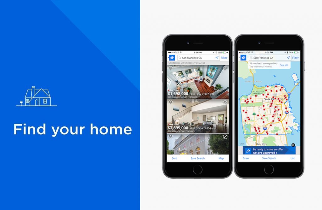 Zillow-mobile-app-development