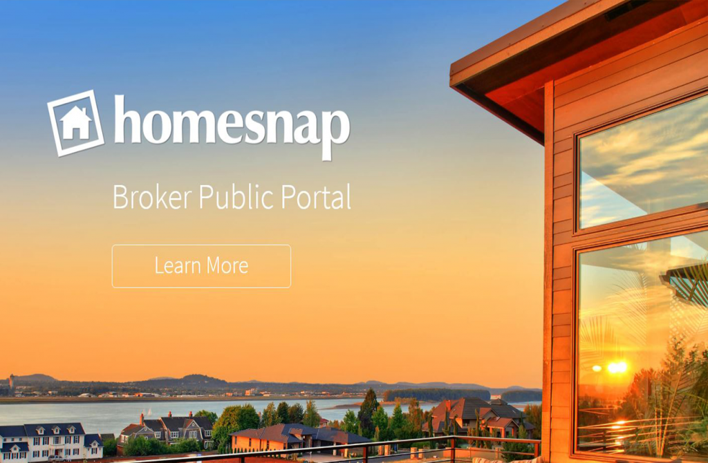 homesnap-web-app-design-agency